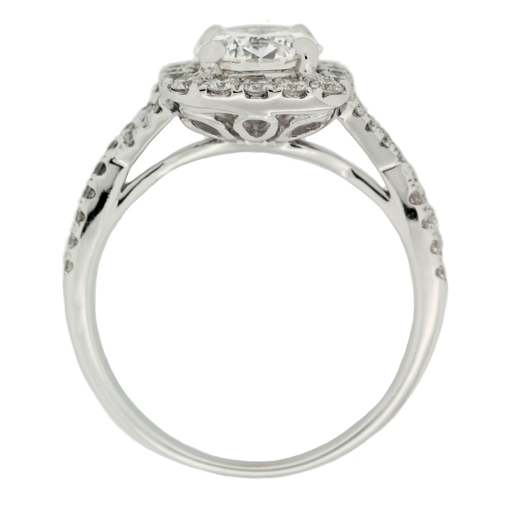 twisted band engagement ring mouradian custom jewelry. Black Bedroom Furniture Sets. Home Design Ideas