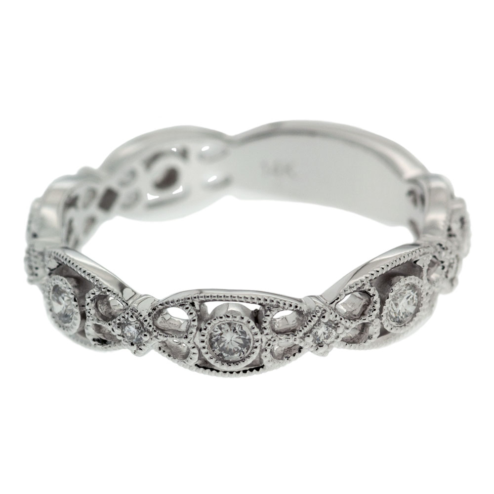 marquise filigree wedding band mouradian custom jewelry