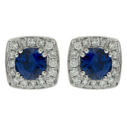 square-halo-sapphire-earrings-front