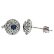 domed-diamond-and-sapphire-earrings-side