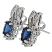 drop-sapphire-stud-earrings-side