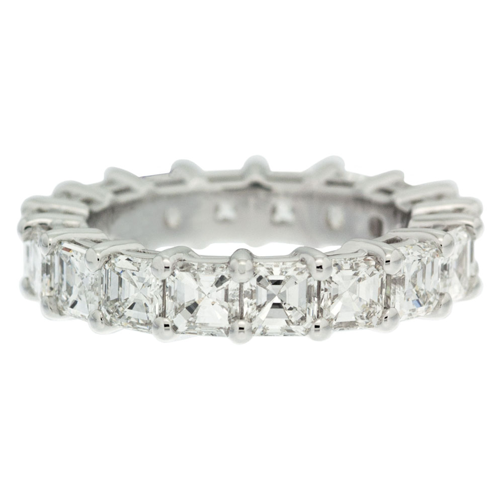 4 Prong Diamond Wedding Band Mouradian Custom Jewelry