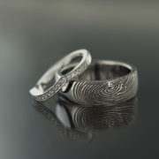 thumbprint ring web size